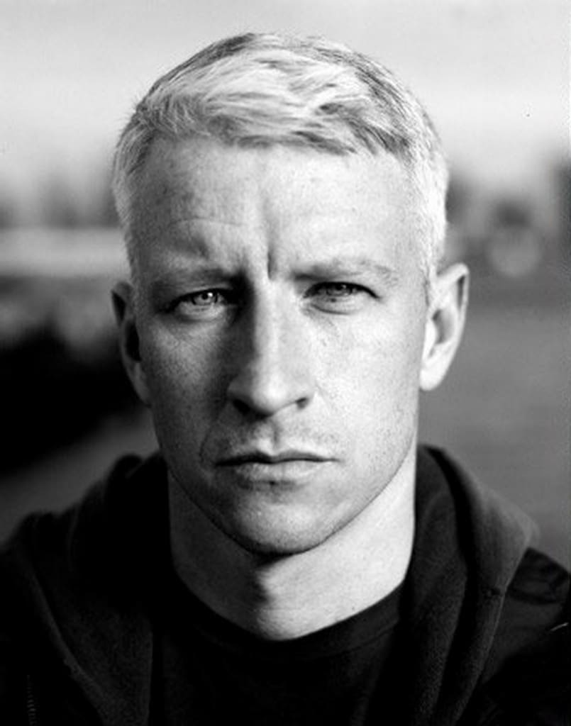 anderson cooper-How to Wear Your Hair Short 29 Best Short Haircuts for Men
