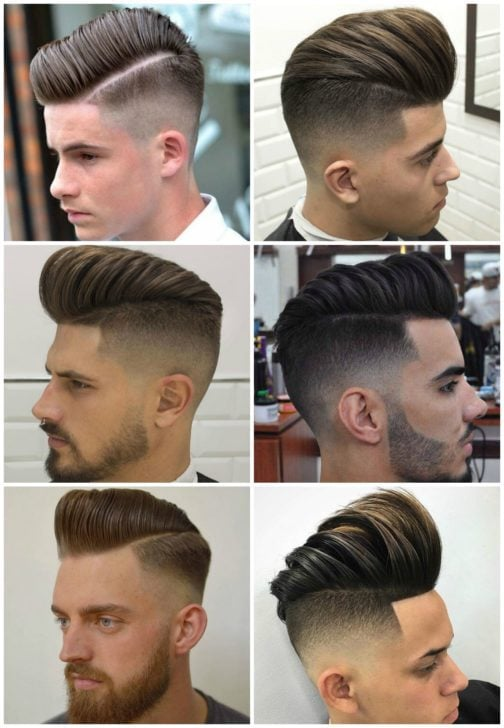 Pompadour haircut toddler : Types of fade haircut low medium taper