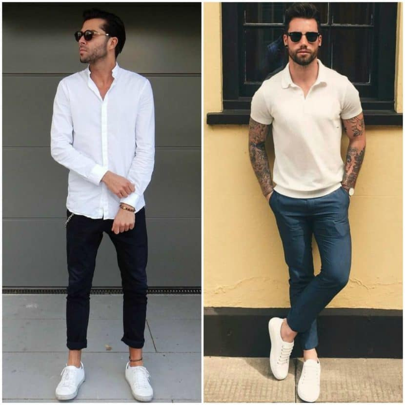 How To Wear White Sneakers Men 39 S Style Guide