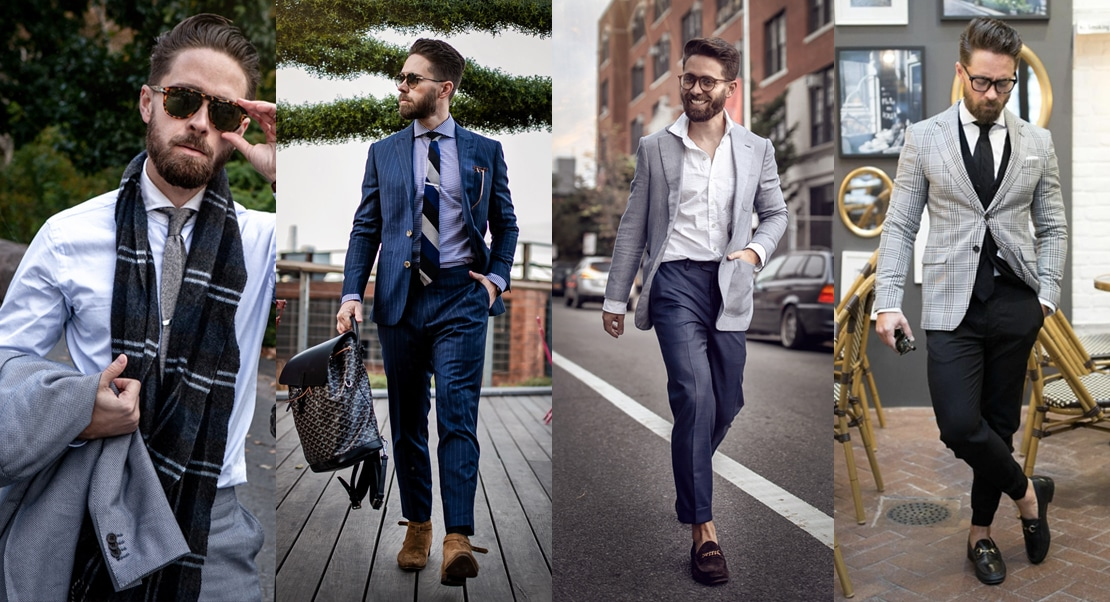 mens cocktail attire suit