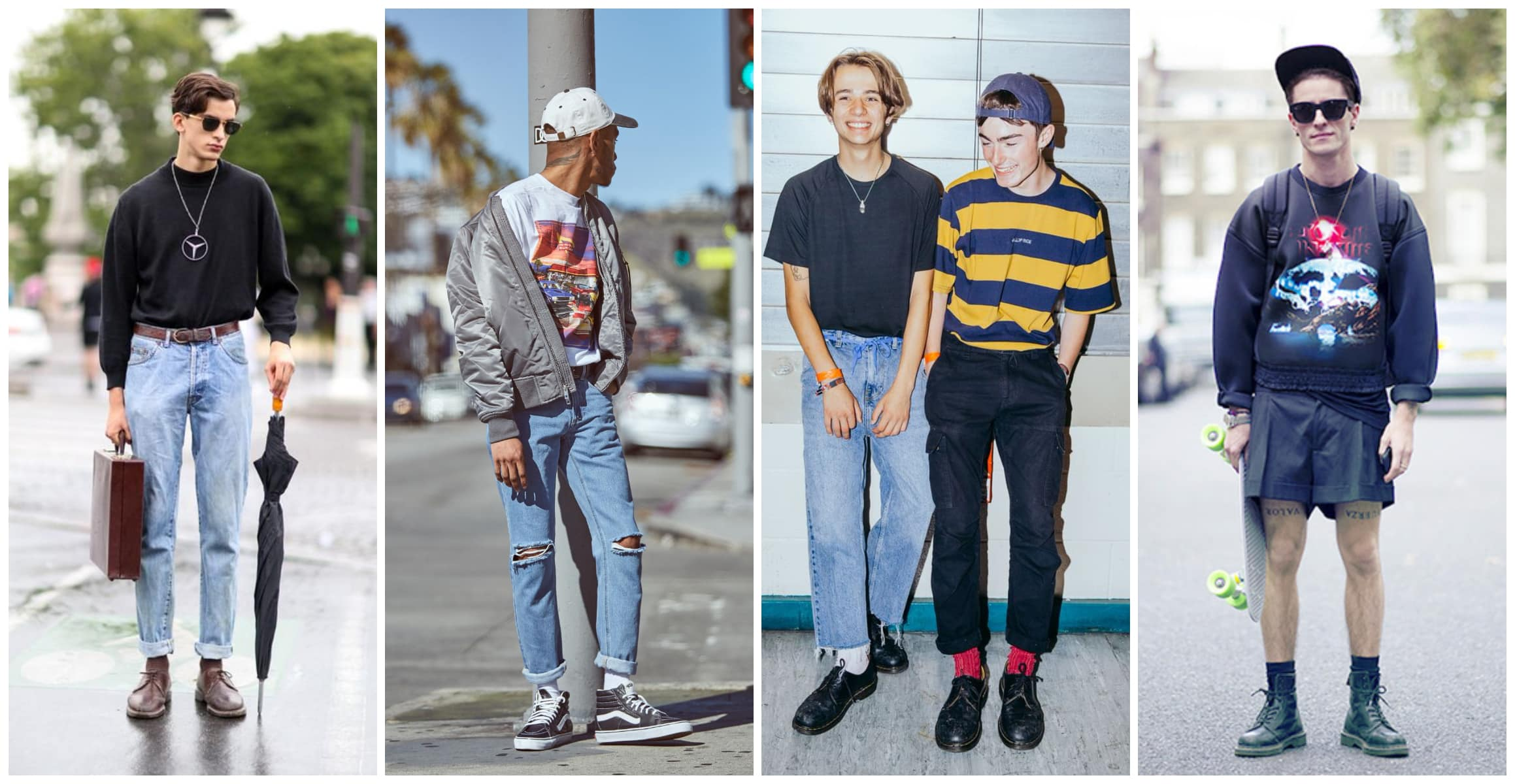 how to rock 90s fashion mens outfit guide 2018